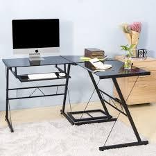 home office glass desk. Desk:Glass And Chrome Desks For Home Office Glass Top Pc Desk Small White Corner I