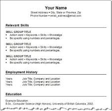 Format To Make Resume | Resume Format
