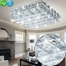 Led Decken Leuchte Zimmer Ess Lüster Silber Büro Strahler