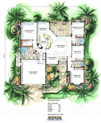 california house plan 1 story coastal