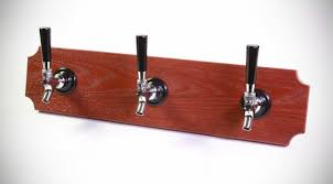 Custom Coat Racks Seattlebased Startup Turns Functional Beer Taps into Man Cave 4