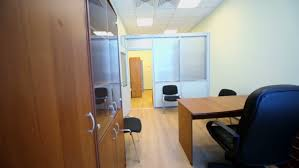 small office room. Interior Of Small Empty Room With Office Furniture - HD Stock Footage Clip
