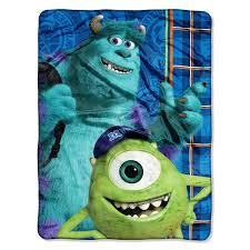 Disneyu0027s Monsters University, Greek Geeks Micro Raschel Blanket
