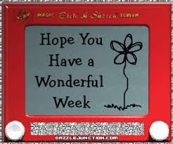 Image result for animated wonderful week images