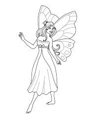 Bring some magic to your child's coloring with these fairies coloring pages. Free Printable Fairy Coloring Pages For Kids