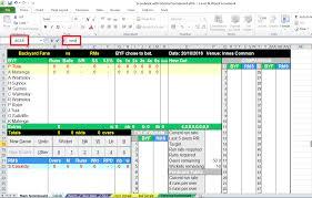 Stellenbesetzungsplan muster excel / projektplan p. Cricket Score Sheet Pdf Cricket Score Sheet Dowload To Make Your Own Free Cricket Score Book Fill Sign And Download Cricket Score Sheet Online On Handypdf Com Tennen Hirai