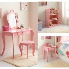 childrens pink bedroom furniture. Brilliant Childrens Amelia PinkWhite Bedroom Furniture  Heart Girls Girlu0027s Vanity Table Etc Intended Childrens Pink