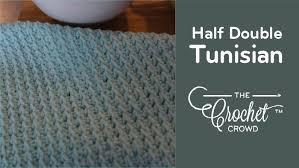 Tunisian Crochet Patterns Delectable Tunisian Half Double Stitch The Crochet Crowd
