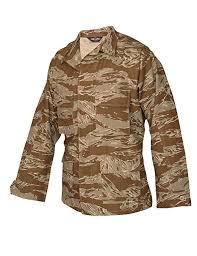 Amazon Com Tru Spec Bdu Coat Cotton Desert Tiger Stripe M