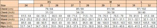 Carhartt Size Chart Women S Size Guide Carhartt Wip Store Copenhagen