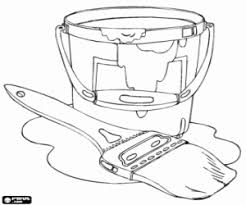 Small Picture Tools And Utensils Popular Paint Coloring Pages Coloring Page