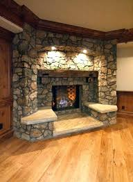 s corner stone electric fireplace stacked