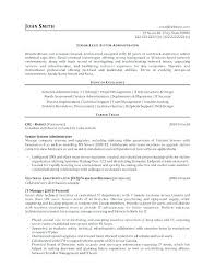 Sample Resume System Administrator It Administrator Resume