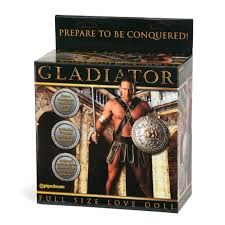 Gladiator doll sex toy