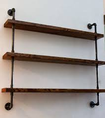industrial wall shelves wood shelving unit wall shelf industrial shelves rustic home