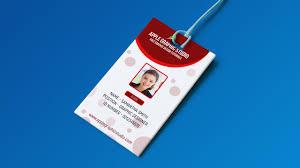 Id Card Templates Free Create Professional Id Card Template Photoshop Tutorial