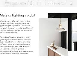 Design Light Co Zhongshan Huaxing Lighting Co Ltd Majeax Lighting