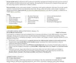 Sample Social Media Resume Sample social Media Resume Tomyumtumweb 65