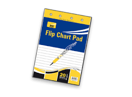 Flip Chart Pad Psi Flip Chart Pad 80gsm 585x810mm