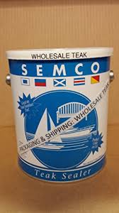 Semco Teak Sealer Color Chart Wholesaleteak Semco Teak Sealer 1 Gallon Natural Sealant