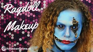 ragdoll makeup special effects makeup tutorial