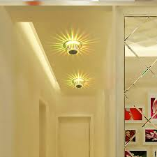 2019 <b>Novelty Ceiling</b> Lighting 90 260V 3W <b>Aluminum</b> Lantern <b>LED</b> ...