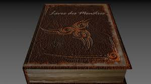 book of monsters royalty free 3d model preview no 1