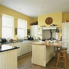 yellow country kitchens. Perfect Country White Yellow Small Kitchen  Yellow Country Kitchen Design  Decorating Ideas Image  With Country Kitchens U