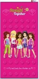 <b>Полотенце Lego Friends</b> «Вместе мы сила» <b>Lego</b> 100723