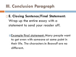 writing a persuasive essay i introduction  a start off a  conclusion paragraph  e
