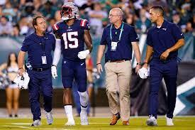 Patriots receiver N'Keal Harry leaves ...