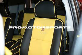 promotorsports toyota fj cruiser with pecca leather custom seats