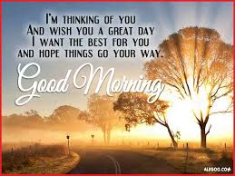Good Morning Thinking Of You Quotes