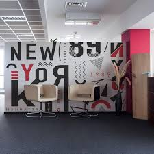 wall murals for office. Modern Wall Mural In Office Reception Murals For E