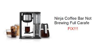 Ninja ce200 series manuals manuals and user guides for ninja ce200 series. Ninja Coffee Bar Not Brewing Full Carafe 7 Fixes Miss Vickie