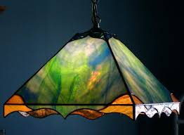 shocking ideas stained glass hanging lamp leaded in prepare parts