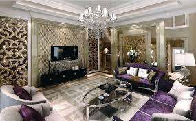 Interior Design Purple Living Room Jane European Style Living Room Purple Curtains Interior Design