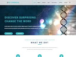 professional webtemplate et chemical free responsive chemical website templates