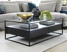 dwell drift coffee table side table