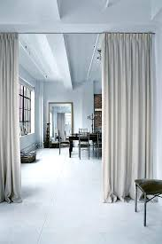 curtain wall dividers perfect room divider curtain