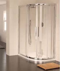 aqualux aqua 8 glide off set quadrant shower enclosure