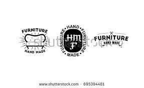 vintage furniture logo. Delighful Vintage Vector Illustration Hand Made Furniture Factory Vintage Logo Collection Throughout Vintage Furniture Logo E