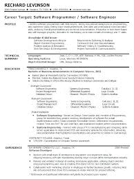 Software Engineer Resume Examples Software Engineer Resume Examples ...