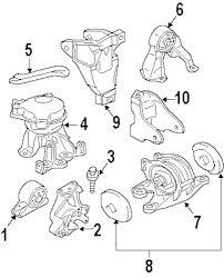 Genuine mitsubishi trans mount stopper mit 1095a017
