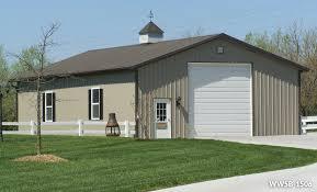open web truss steel building garage