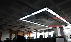 suspended office lighting. Black Pendant Lights Modern Office Hanging Lamps LED Tube Meeting Room Linear Suspension Energy Efficiency Suspended Lighting T