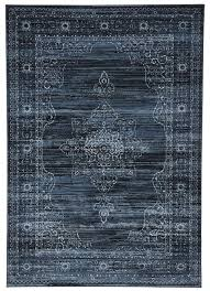 blue rug texture. Soma Delicate Traditional Style Blue Rug Texture