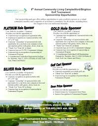 Golf Event Brochure Template Tournament Program Free – Helenamontana ...