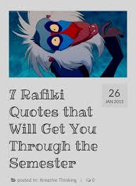 Rafiki Quotes New 48 Rafiki Quotes That Will Get You Through The Semester 48