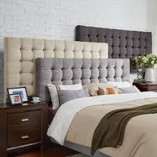 Briella Tufted Linen Upholstered King-size Headboard by iNSPIRE Q Modern -  Free Shipping Today - Overstock.com - 20291188